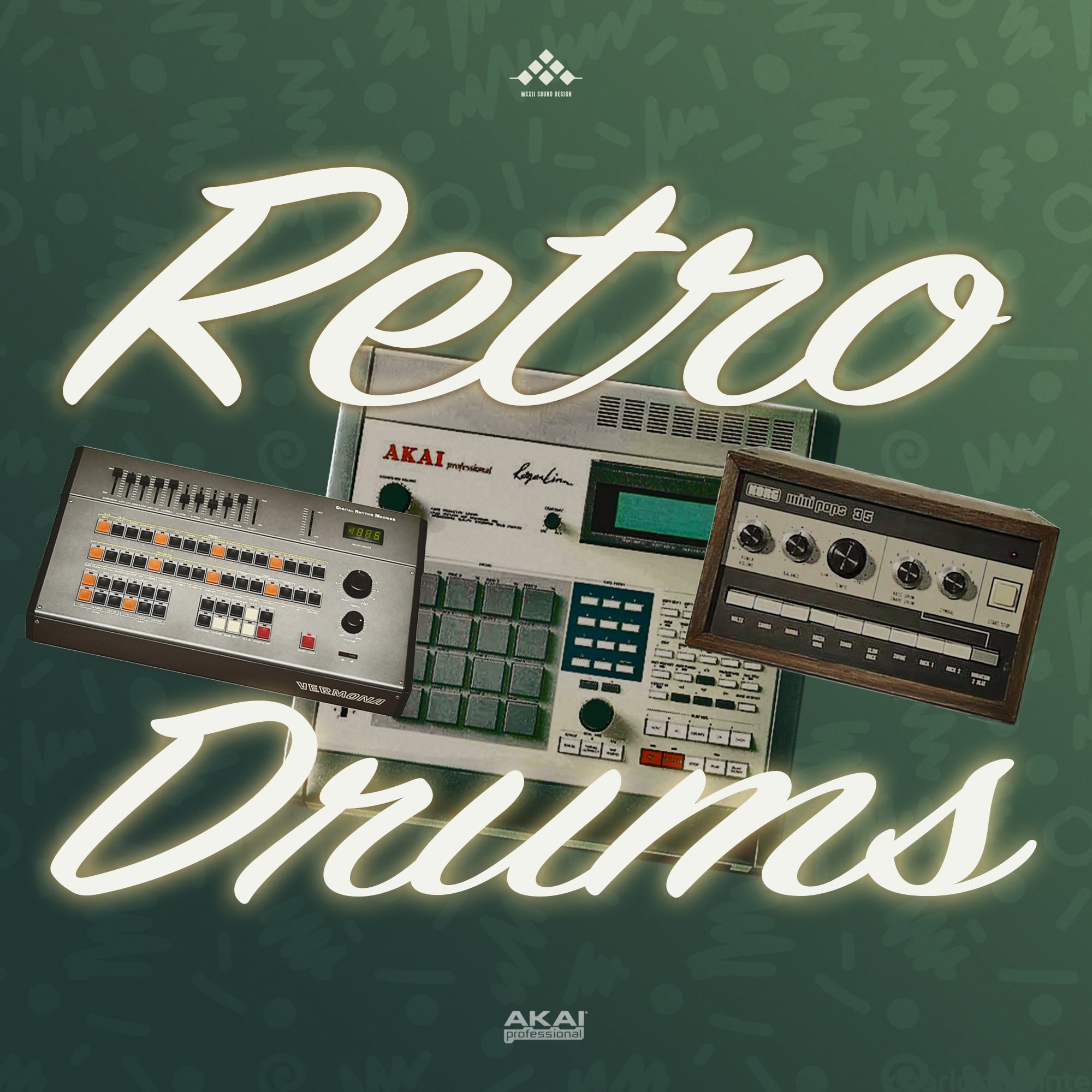 MSXII-Retro Drums
