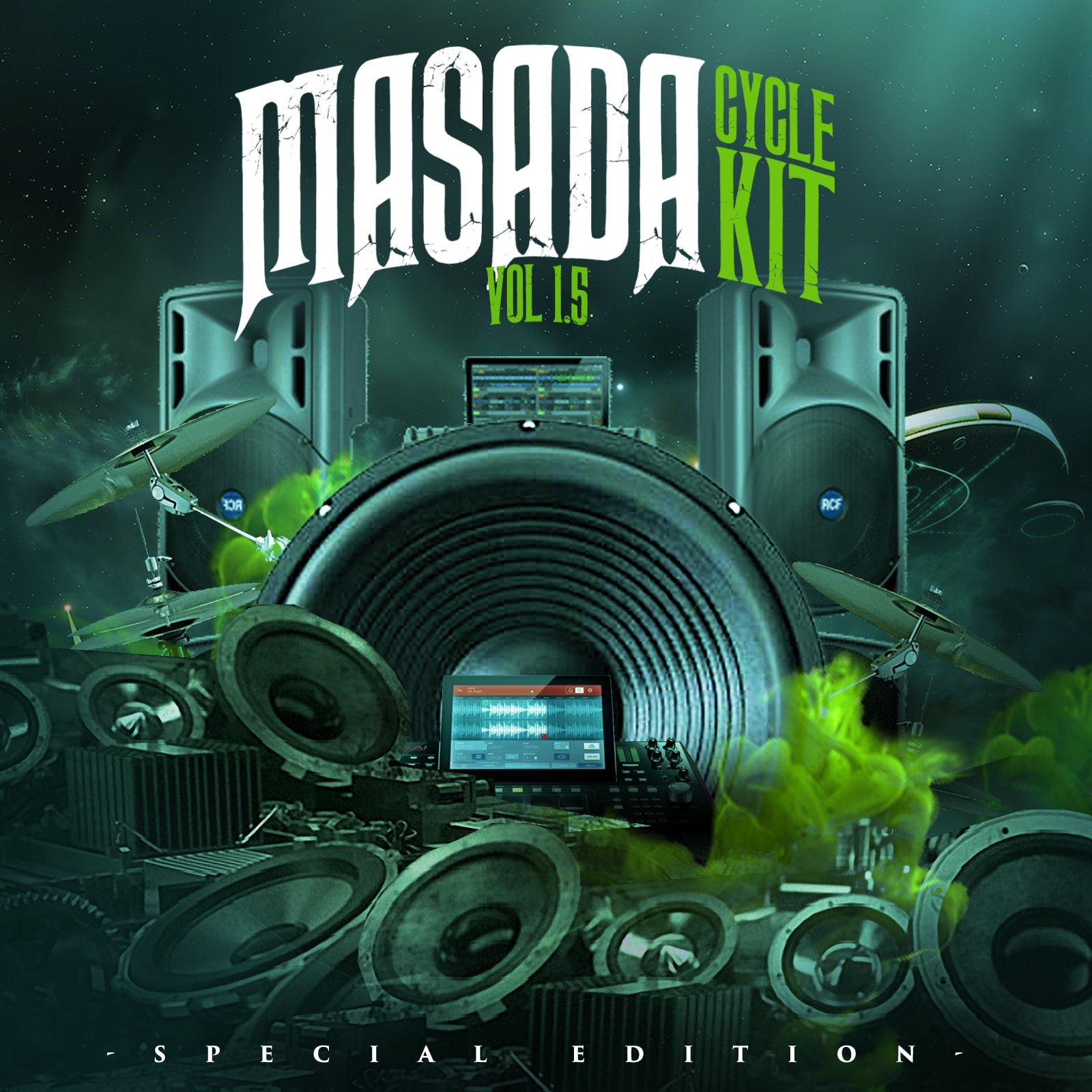 (Exclusive) Masada Cycle kit 1.5 Special Edition