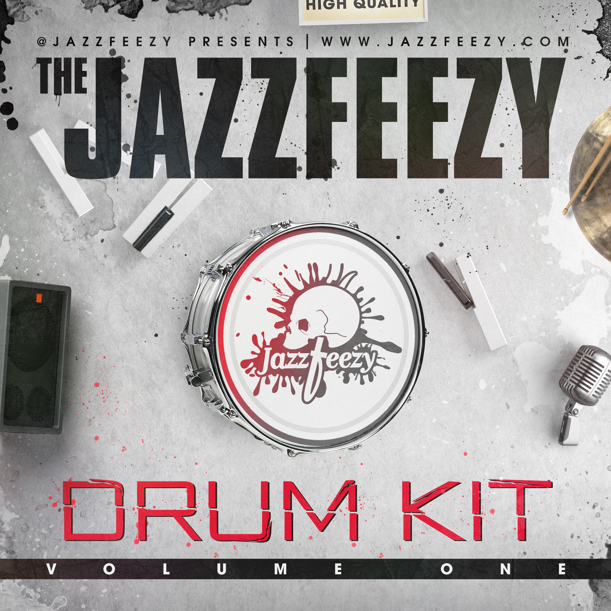 Jazzfeezy Drum Kit vol. 1