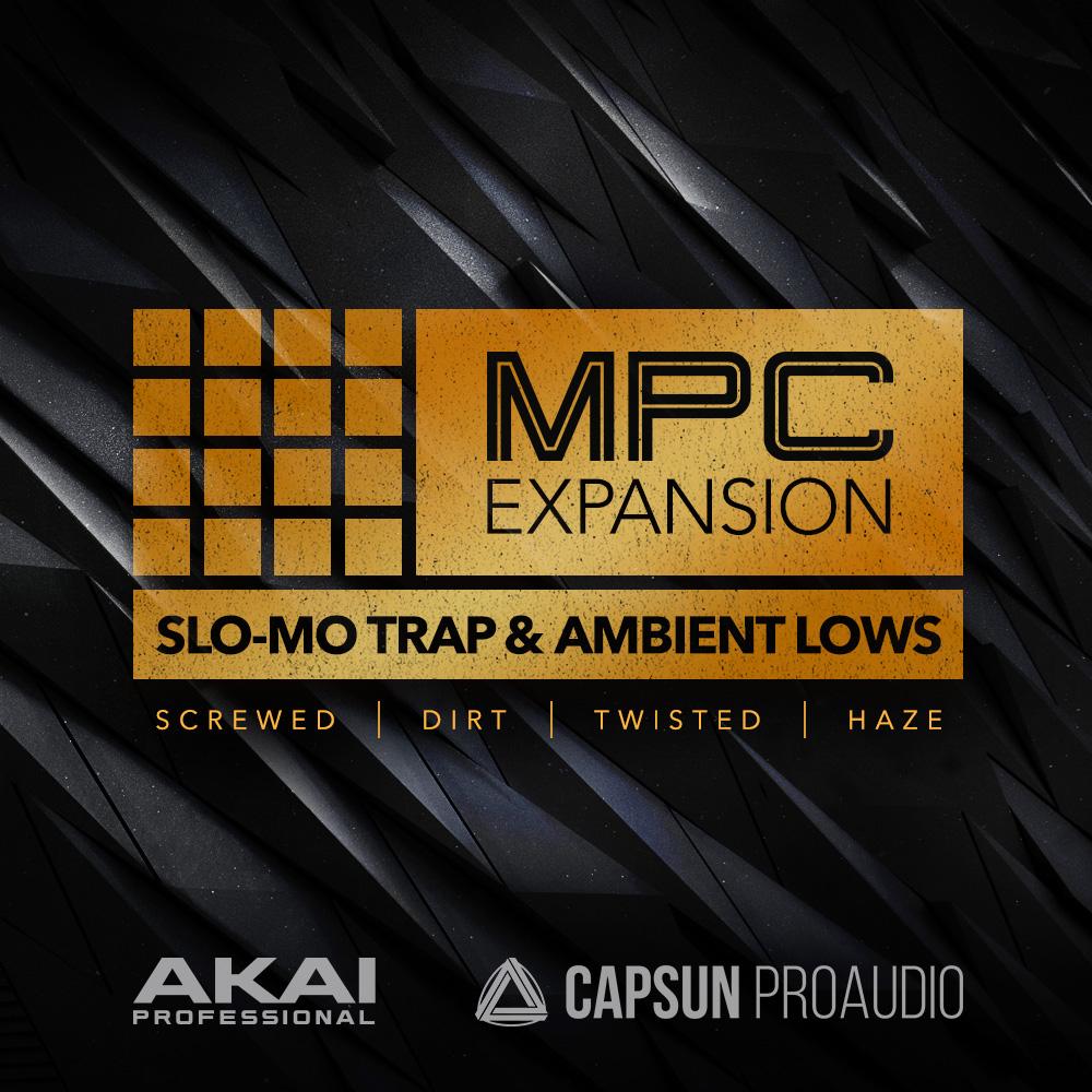 Akai Pro Slo Mo Trap & Ambient Lows
