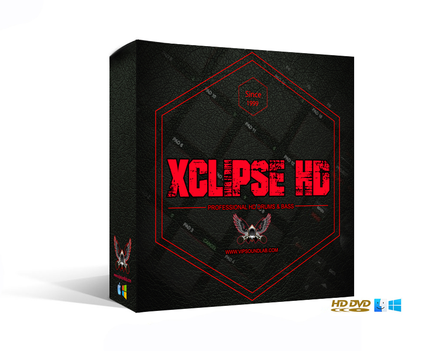 VIP SOUNDLAB Xclipse HD Drums & Bass