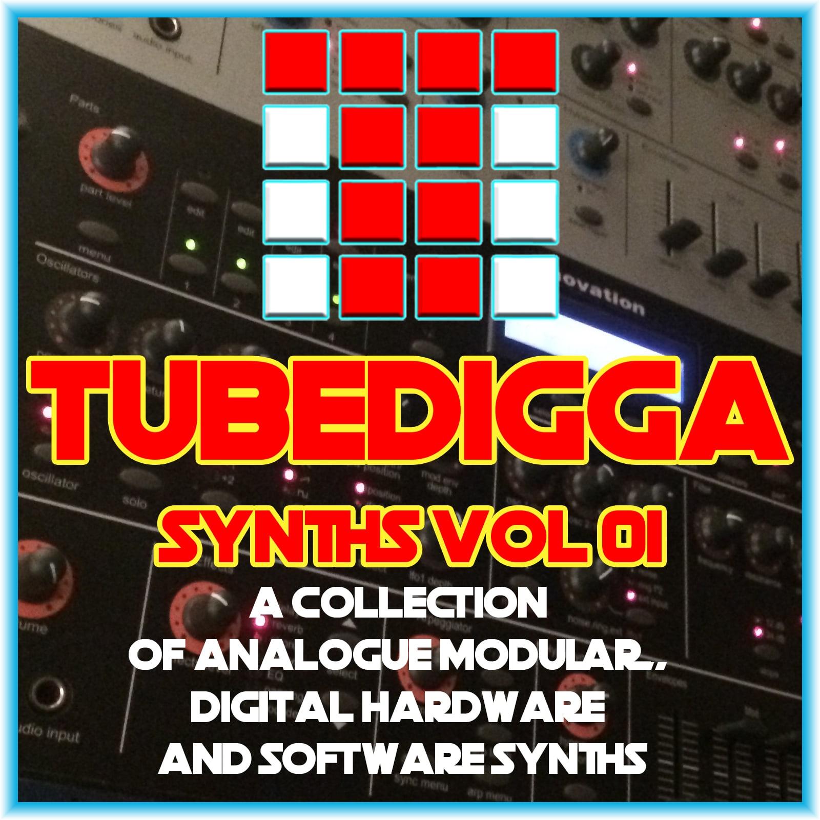 TUBEDIGGA SYNTHS VOL 01