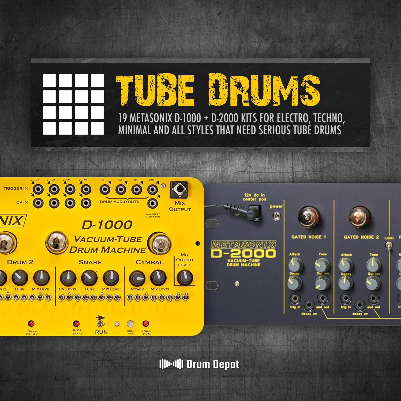 Marco Scherer Drum Depot – Tube Drums Expansion