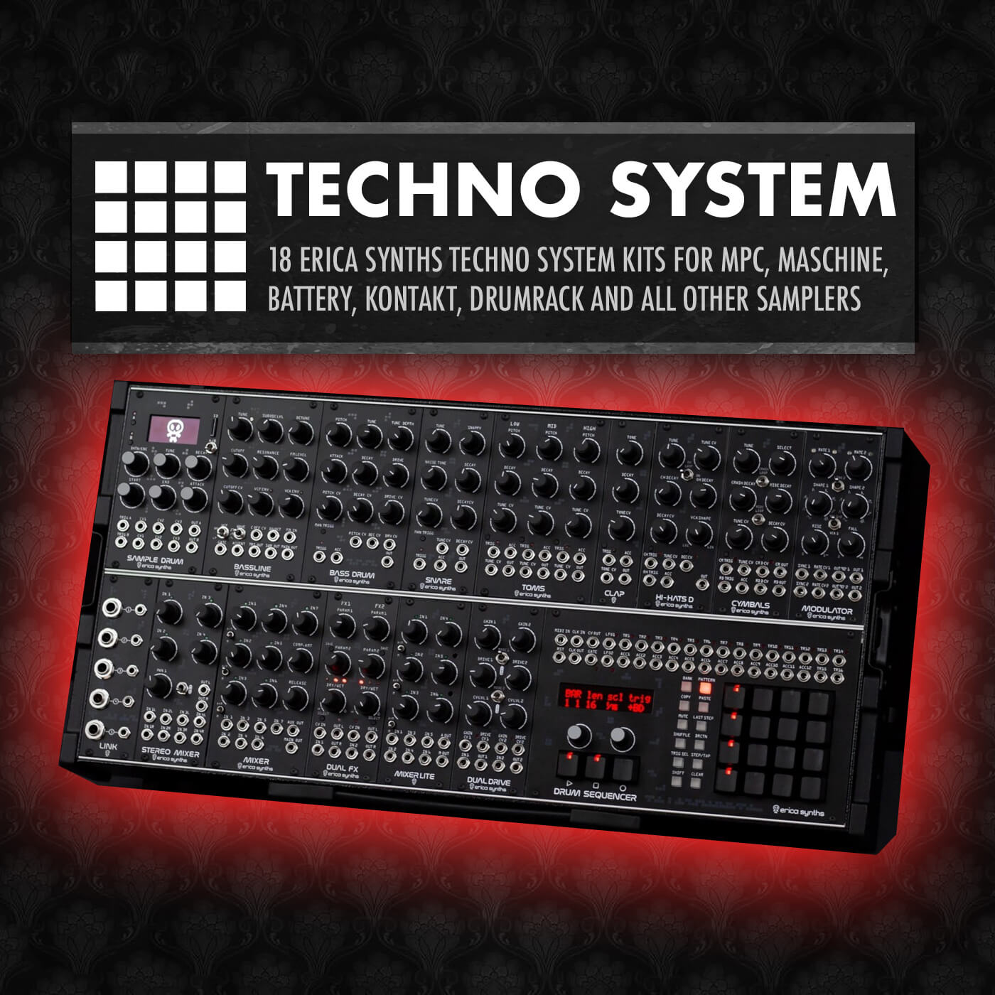 Drum Depot – Techno System