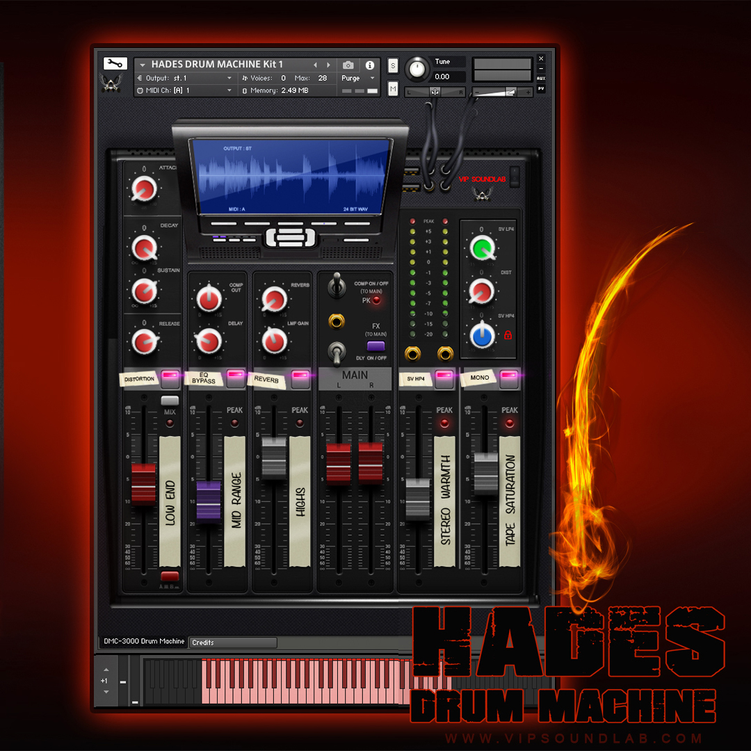 VIP SOULNDLAB Hades Drum Machine for DAWS with Kontakt 5