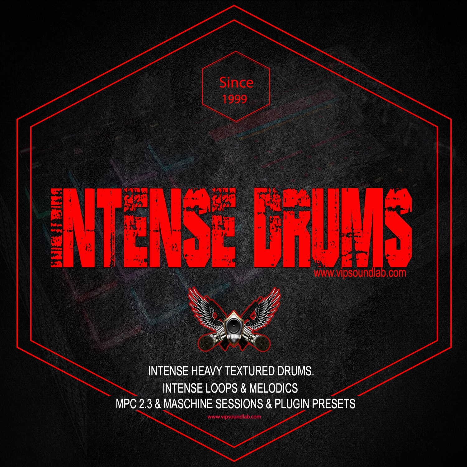 VIP SOUNDLAB Intense Drum Loops Instruments