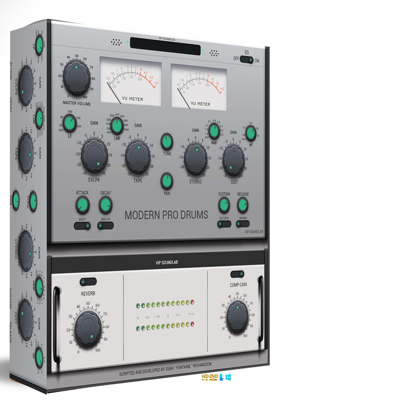 VIP SOULNDLAB Modern Pro Drum Machine Kontakt 5