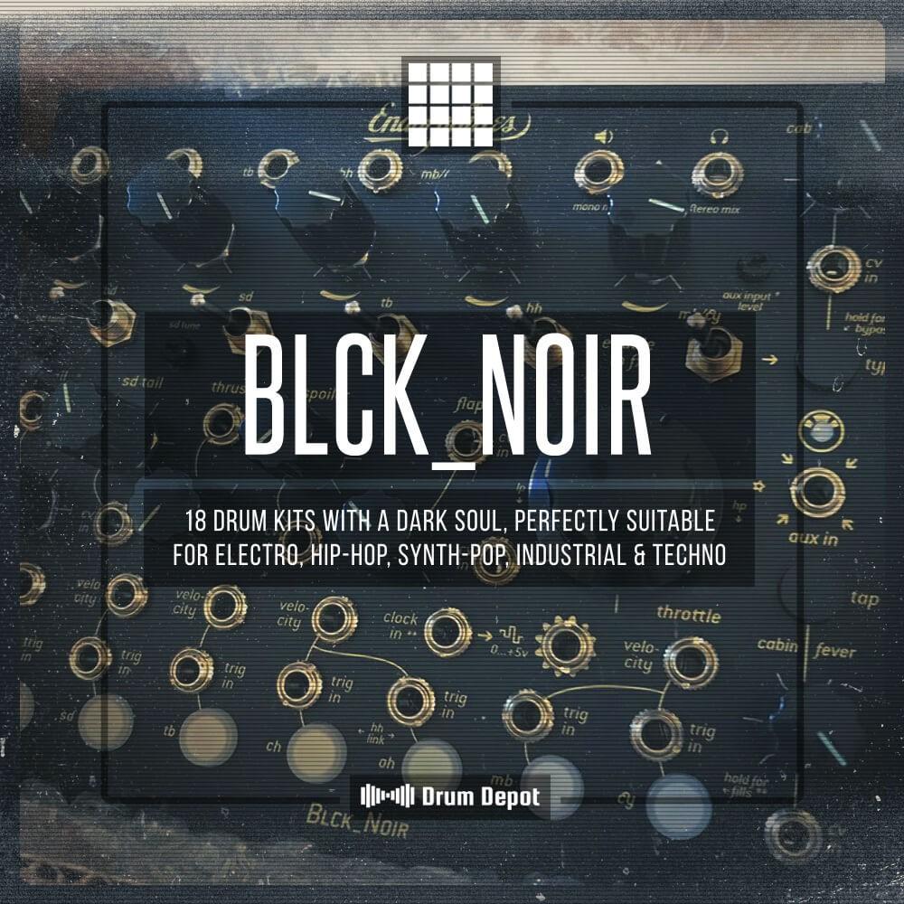Marco Scherer Drum Depot – Blck_Noir