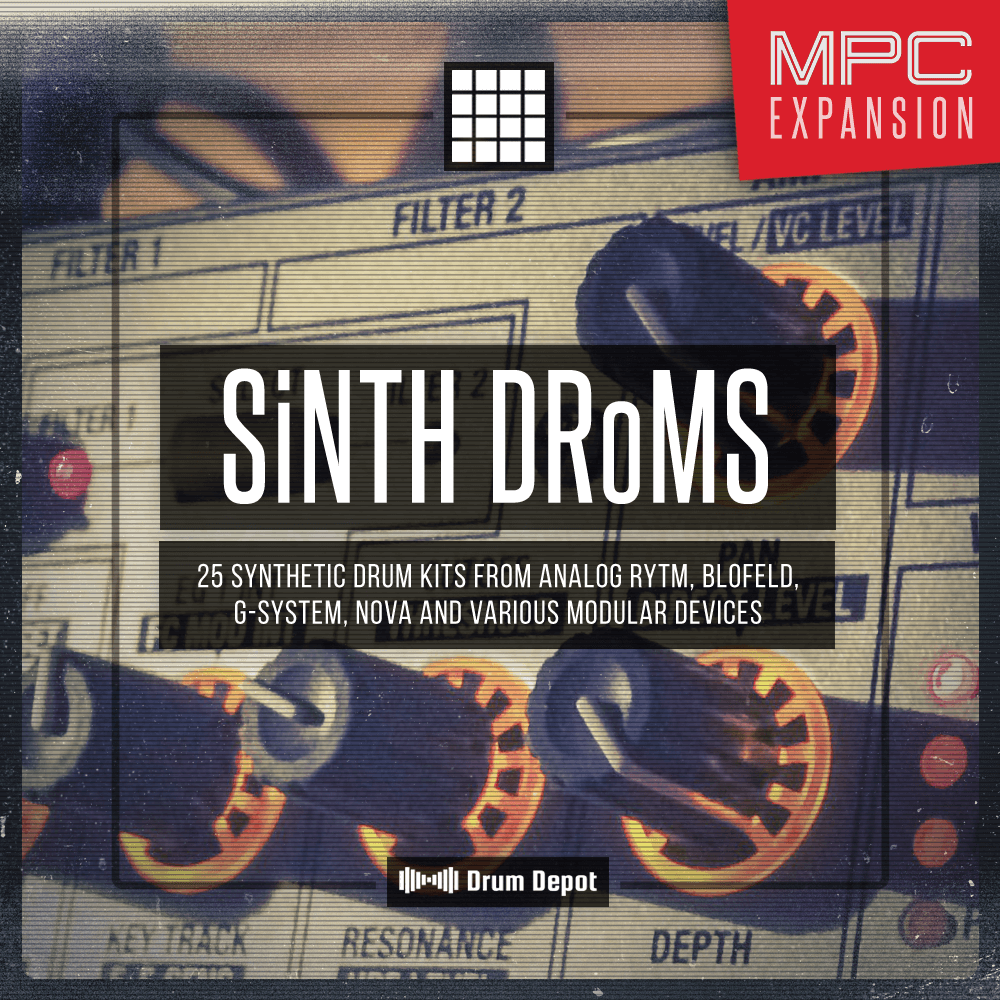 Marco Scherer  Drum Depot – SiNTH DRoMS